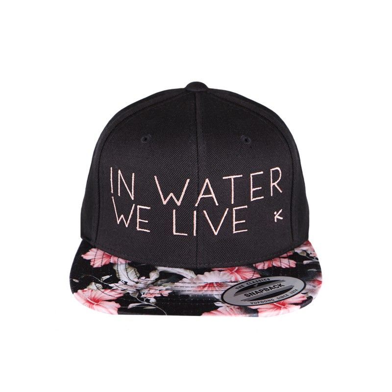 Hiko cap In water we live flower