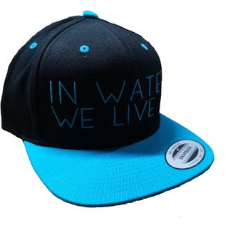 Hiko Cap In water we live black/blue
