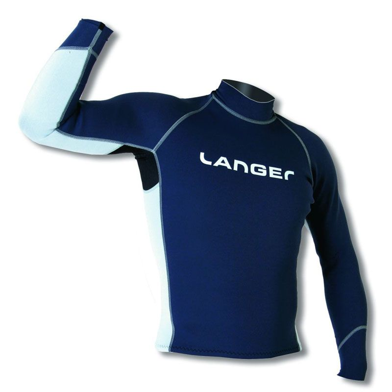 Langer Neoprenshirt Superlight