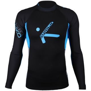 Hiko Neoprenshirt Symbio XL black/blue